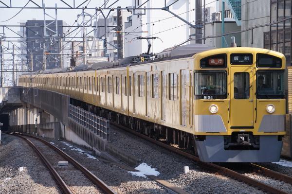 2018-02-04 西武9104F 急行飯能行き 2125レ