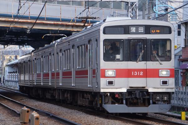 2018-02-06 東急1013F 蒲田行き
