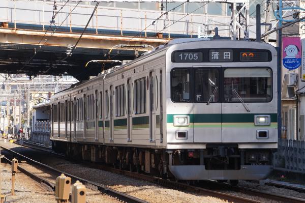 2018-02-06 東急1505F 蒲田行き