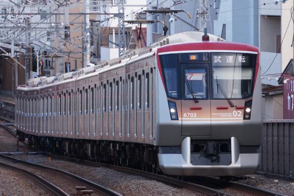 2018-02-06 東急6102F 試運転2
