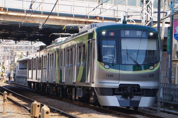 2018-02-06 東急7108F 蒲田行き