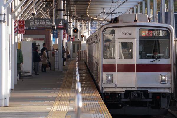 2018-02-06 東武9106F F特急森林公園行き
