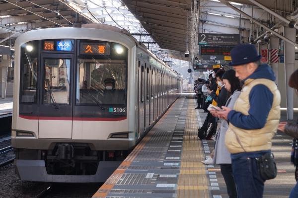 2018-02-10 東急5106F 各停久喜行き