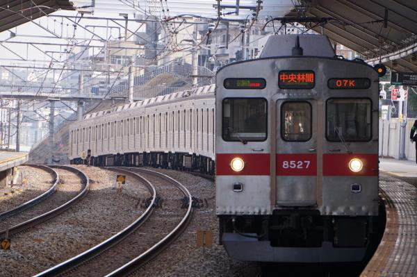 2018-02-10 東急8627F 準急中央林間行き