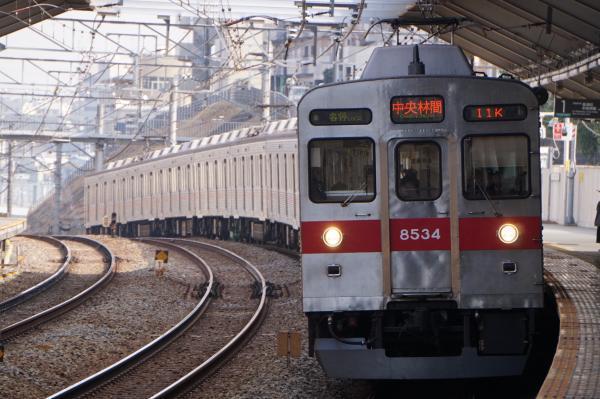 2018-02-10 東急8634F 各停中央林間行き