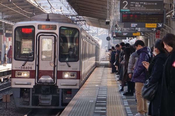 2018-02-10 東武31606F_31406F 急行押上行き