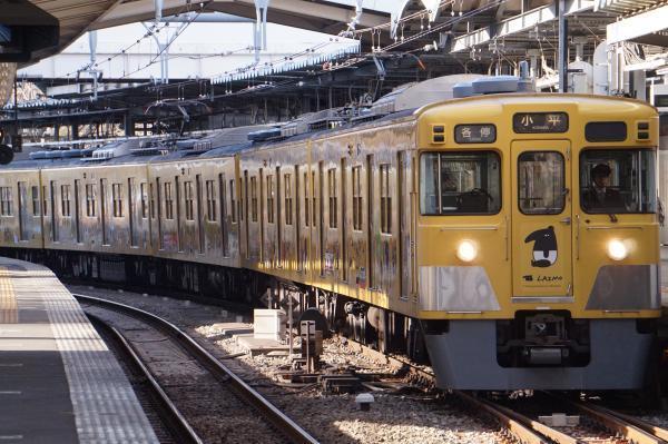 2018-02-13 西武2007F 各停小平行き 5476レ