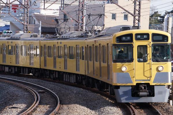 2018-02-13 西武2507F_2545F 各停拝島行き 5421レ