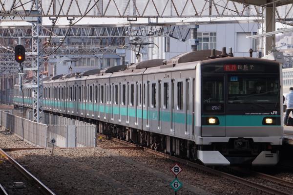 2018-02-16 マト11編成 急行我孫子行き