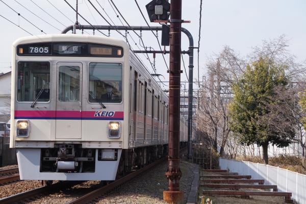 2018-02-16 京王7805F_7705F 準特急新宿行き
