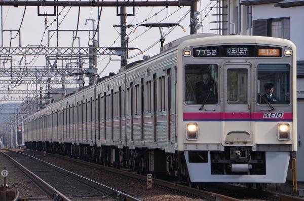 2018-02-16 京王7807F_7702F 準特急京王八王子行き