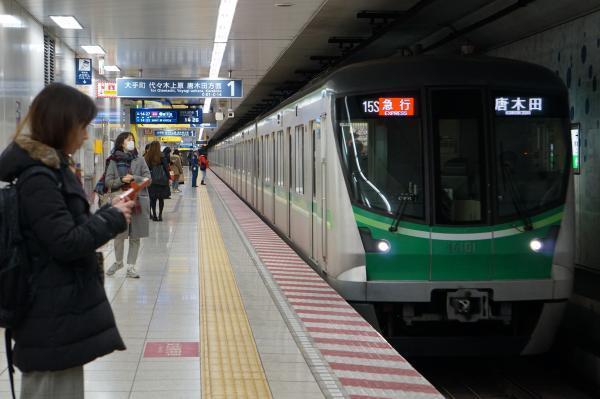 2018-02-18 メトロ16101F 急行唐木田行き2