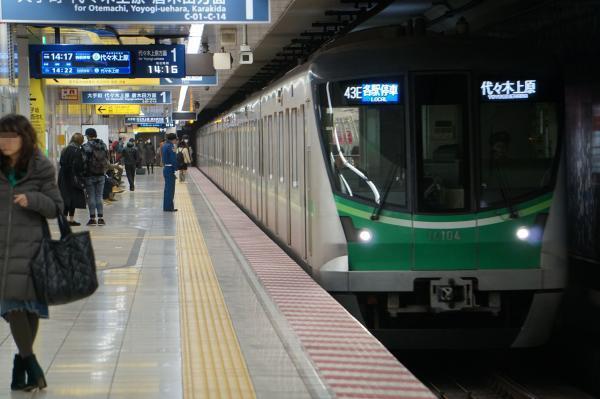 2018-02-18 メトロ16104F 各駅停車代々木上原行き
