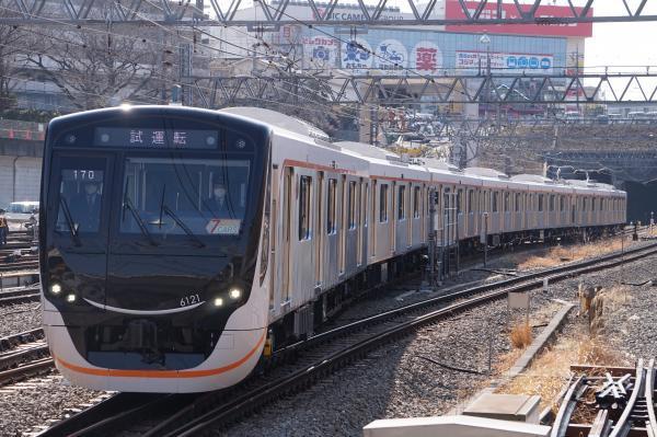 2018-02-20 東急6121F 試運転1