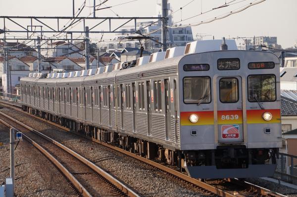 2018-02-20 東急8639F 各停大井町行き