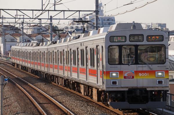 2018-02-20 東急9001F 各停大井町行き