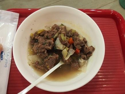 大好きな馬肉の野菜スープ煮