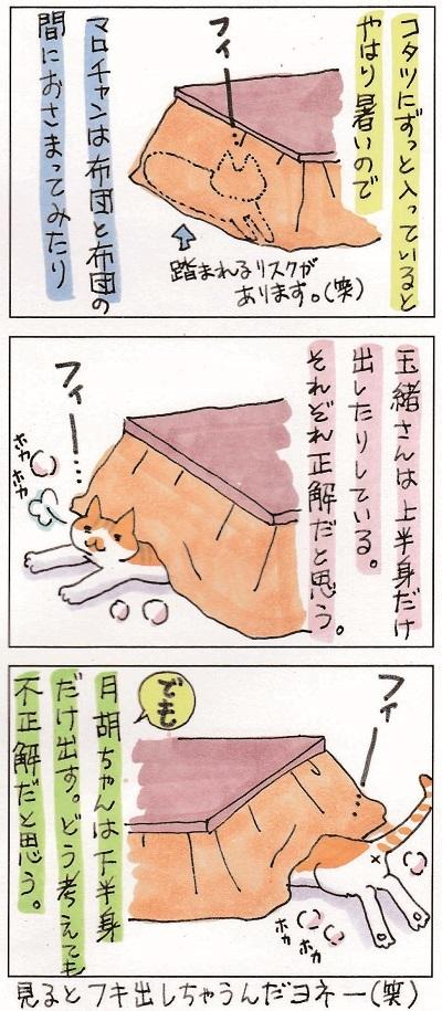 月胡ちゃんとコタツ 2-2