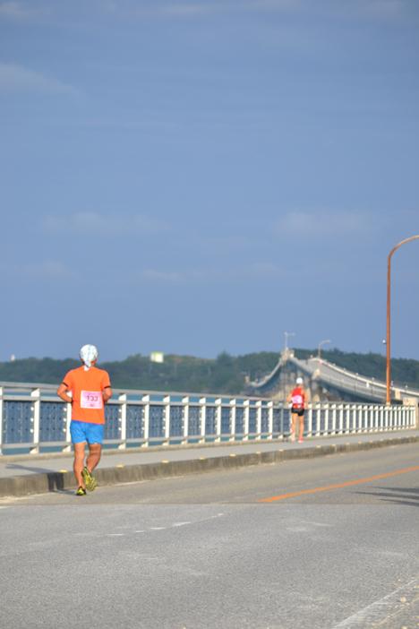 宮古島ワイドーマラソン2018 池間大橋