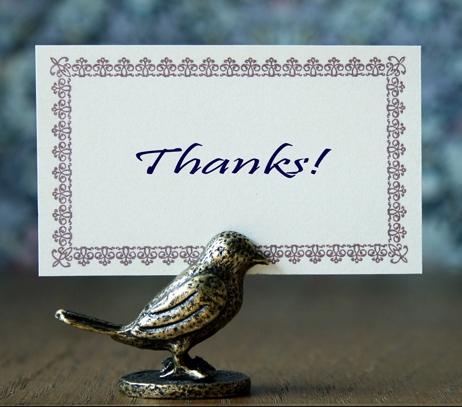 鳥 ありがとう