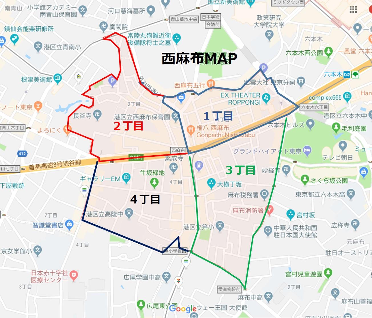 西麻布MAP2
