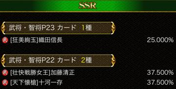 4シート目 SSR22保証 確率