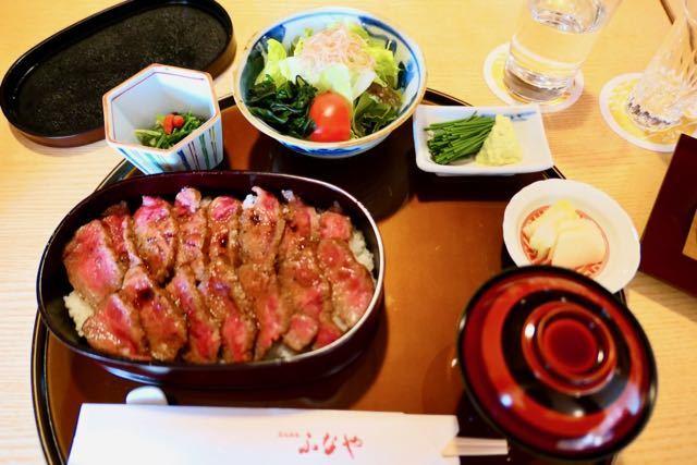 ふなや ステーキ丼 - 1
