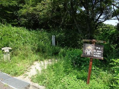 根香寺への遍路道