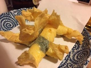 湯葉巻チーズ揚げ