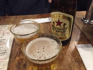 サッポロラガー赤星(中瓶)