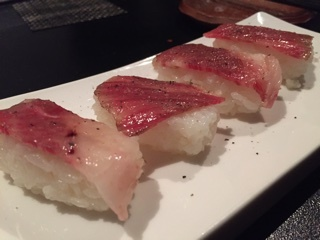 A4新潟和牛の肉寿司