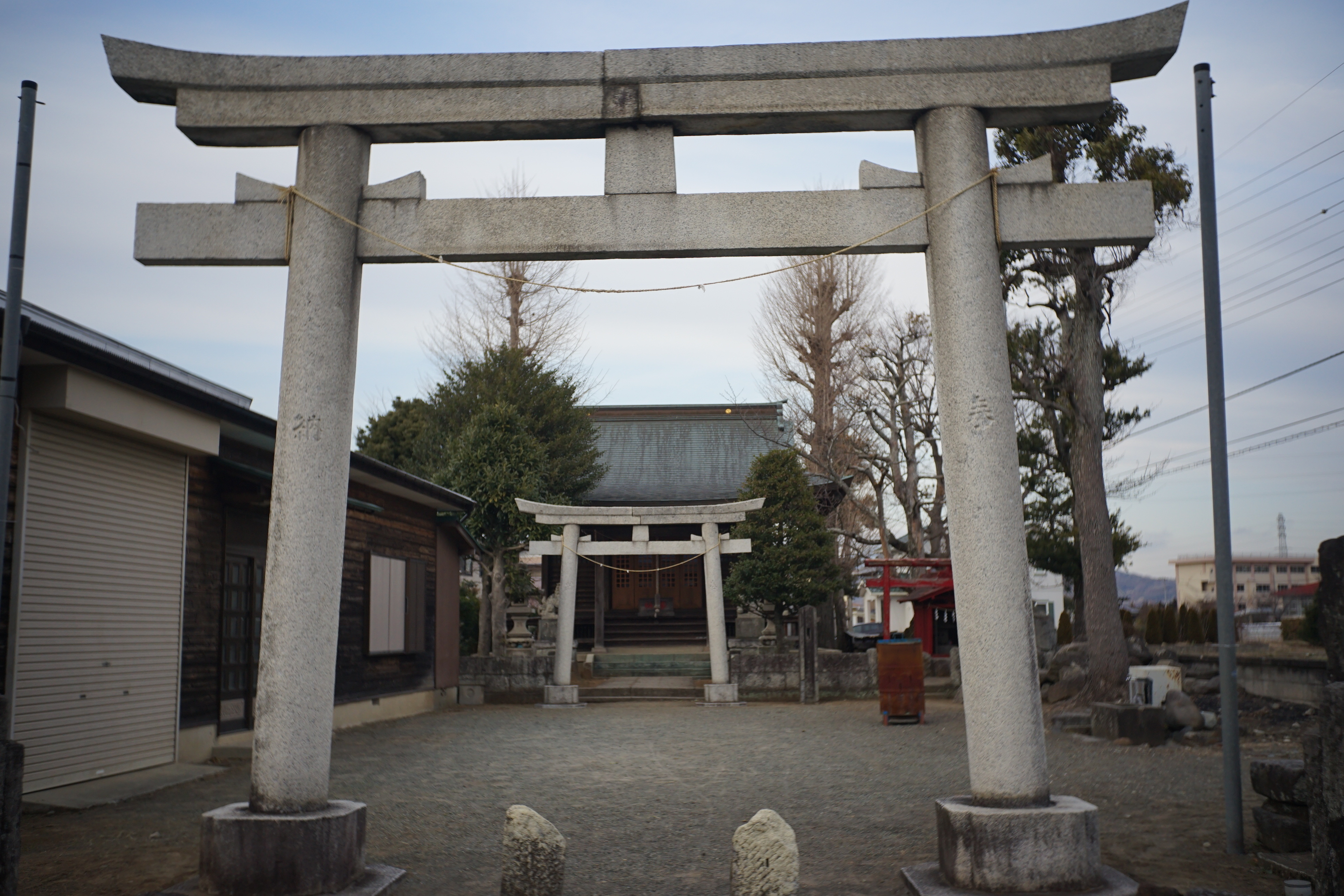 神社仏閣12「日枝神社」小田急小田原線富水付近2