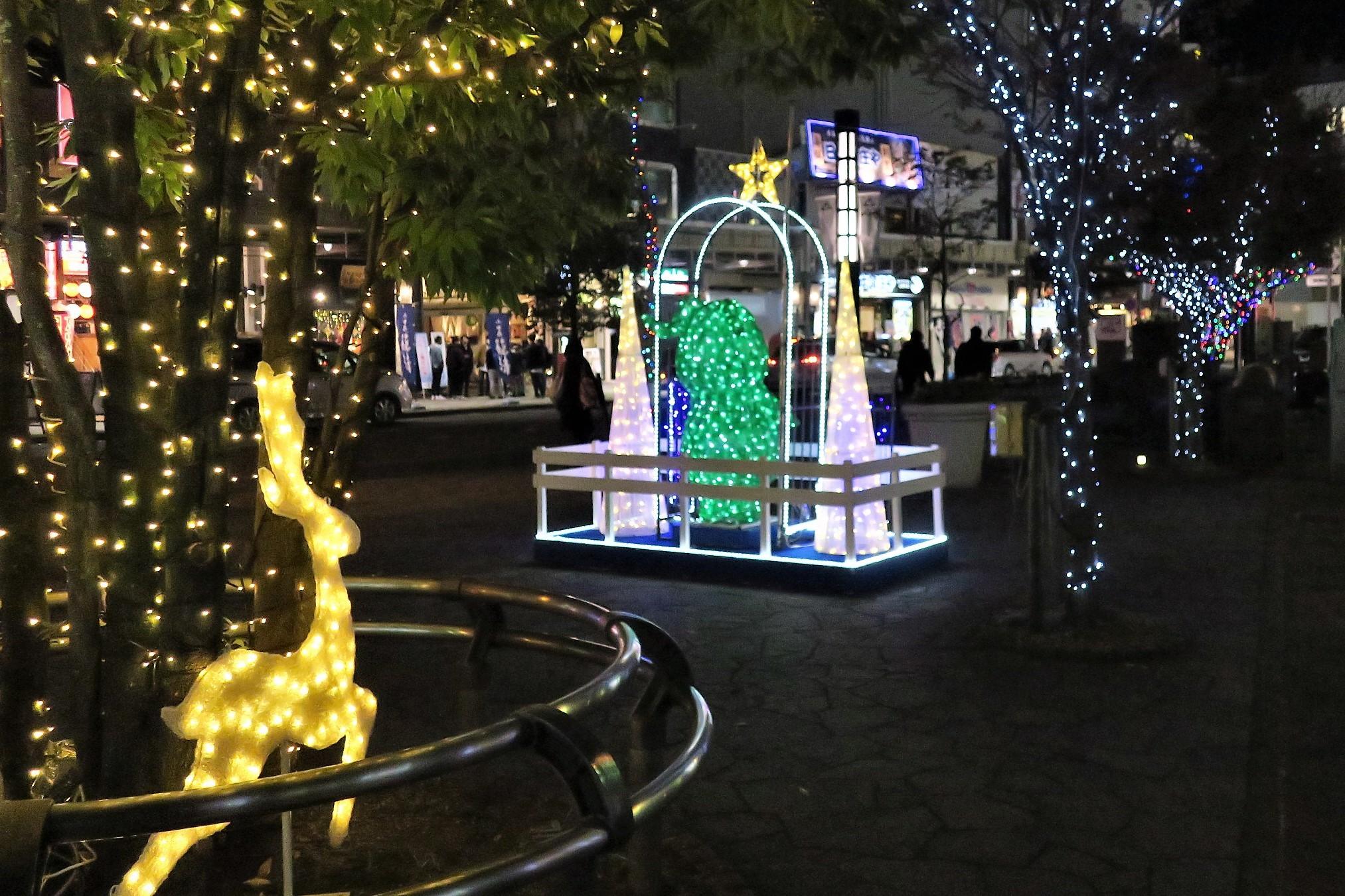 街灯写真15「クリスマスイルミネーション1」