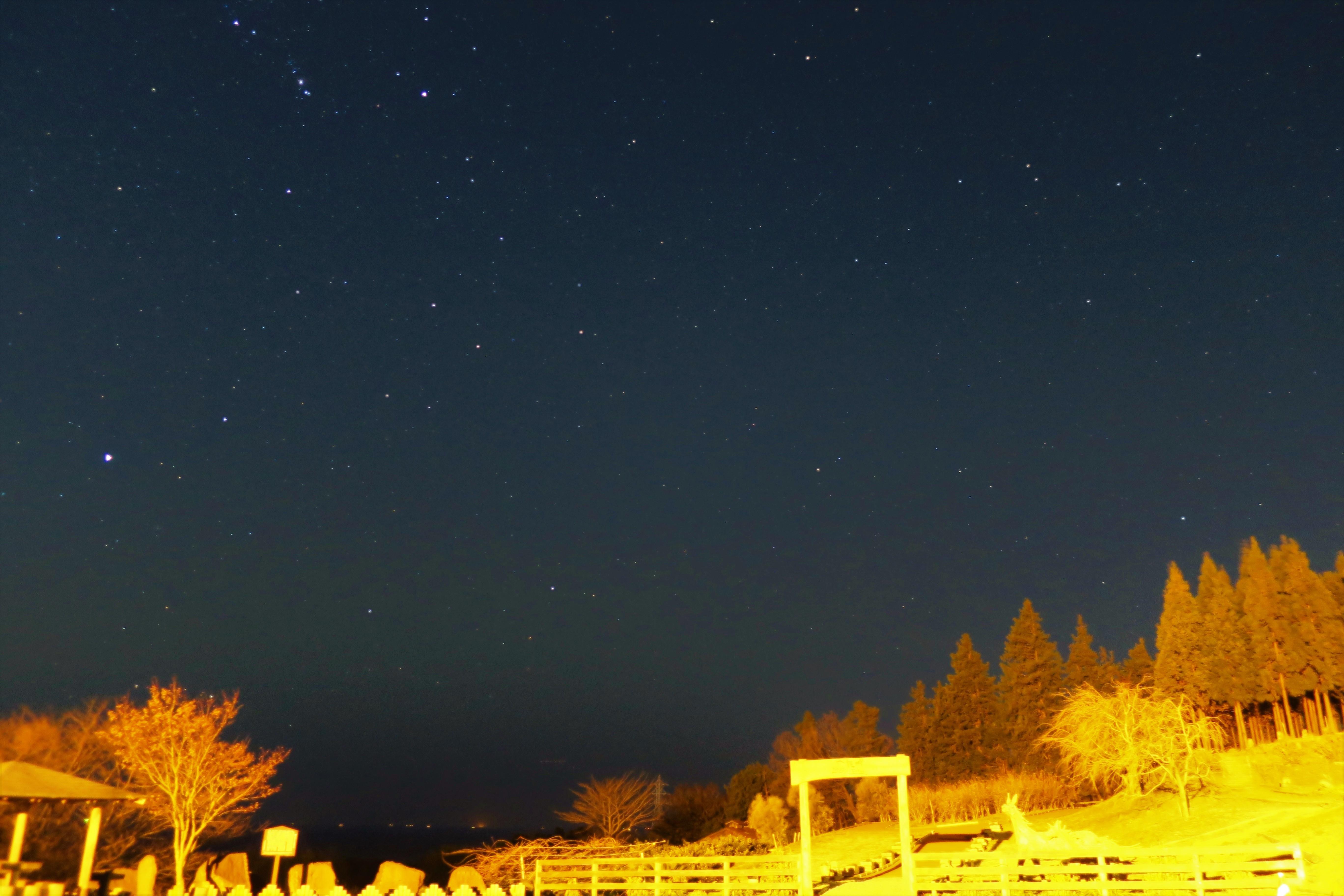 星景写真1「一夜城」