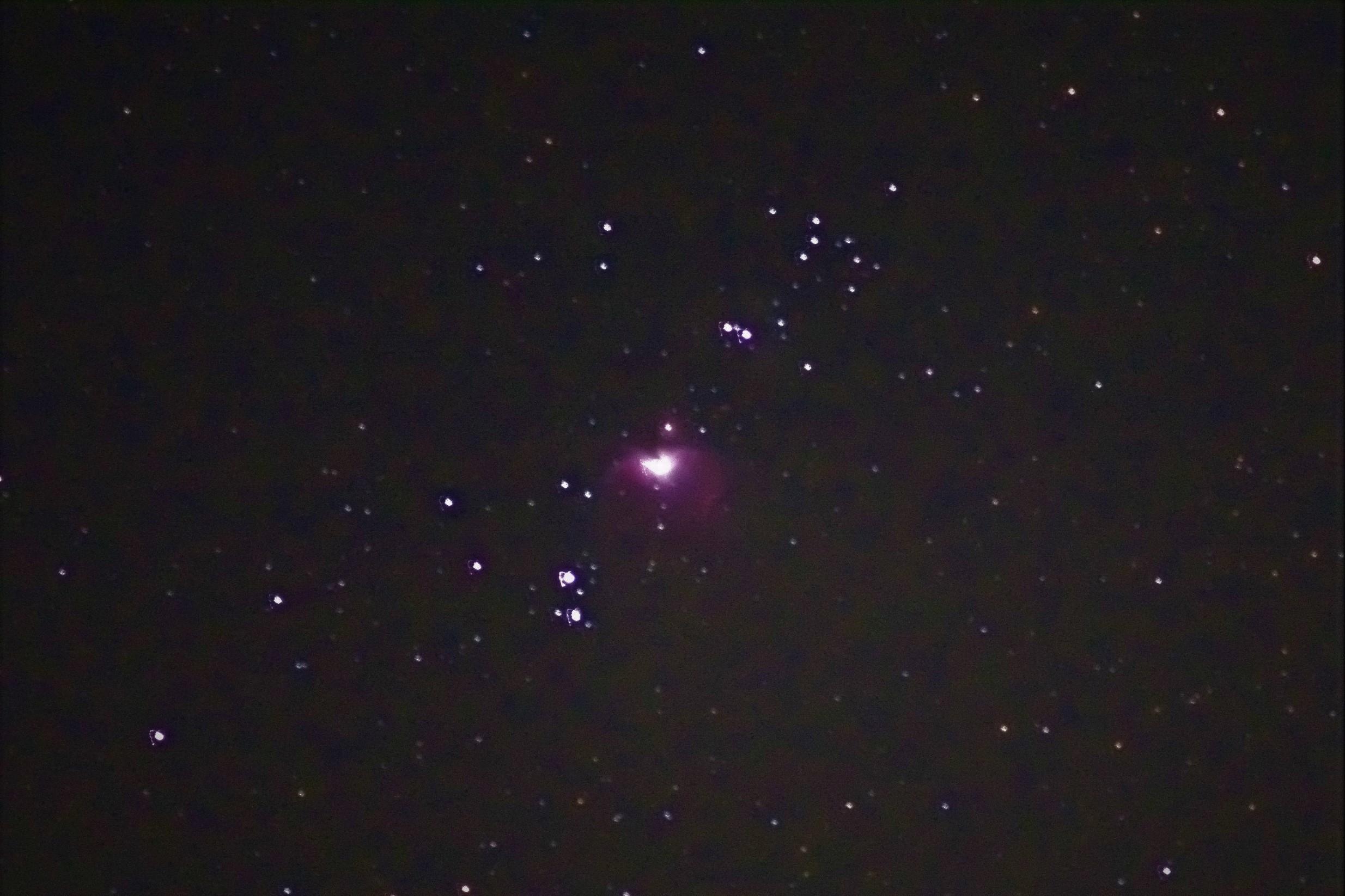M42オリオン大星雲1