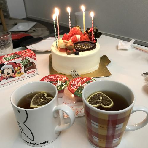 クリスマス まゆこ ケーキ