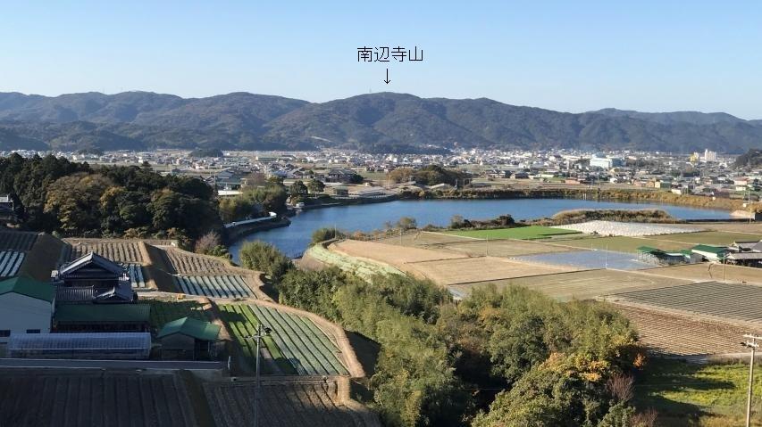 大日ダムからの眺め