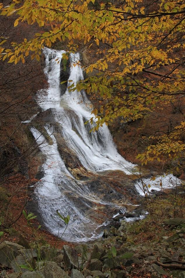 紅葉と霧降の滝・11月①