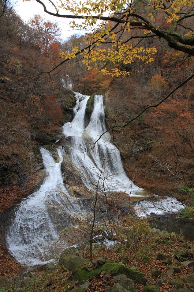 紅葉と霧降の滝・11月②