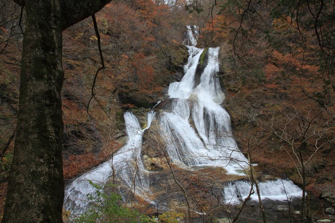 霧降の滝・11月③