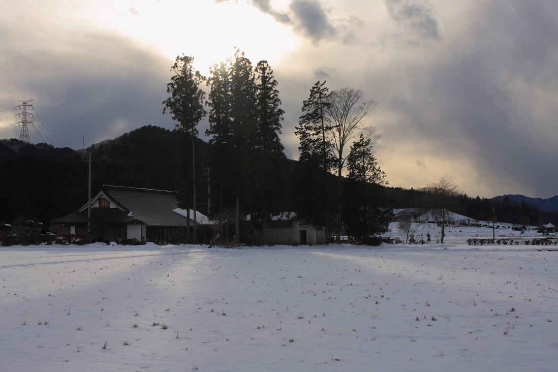 大雪の二日後18②