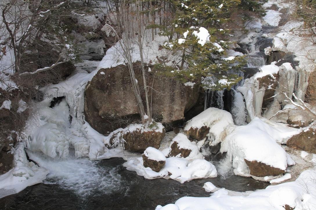 冬の竜頭の滝18①