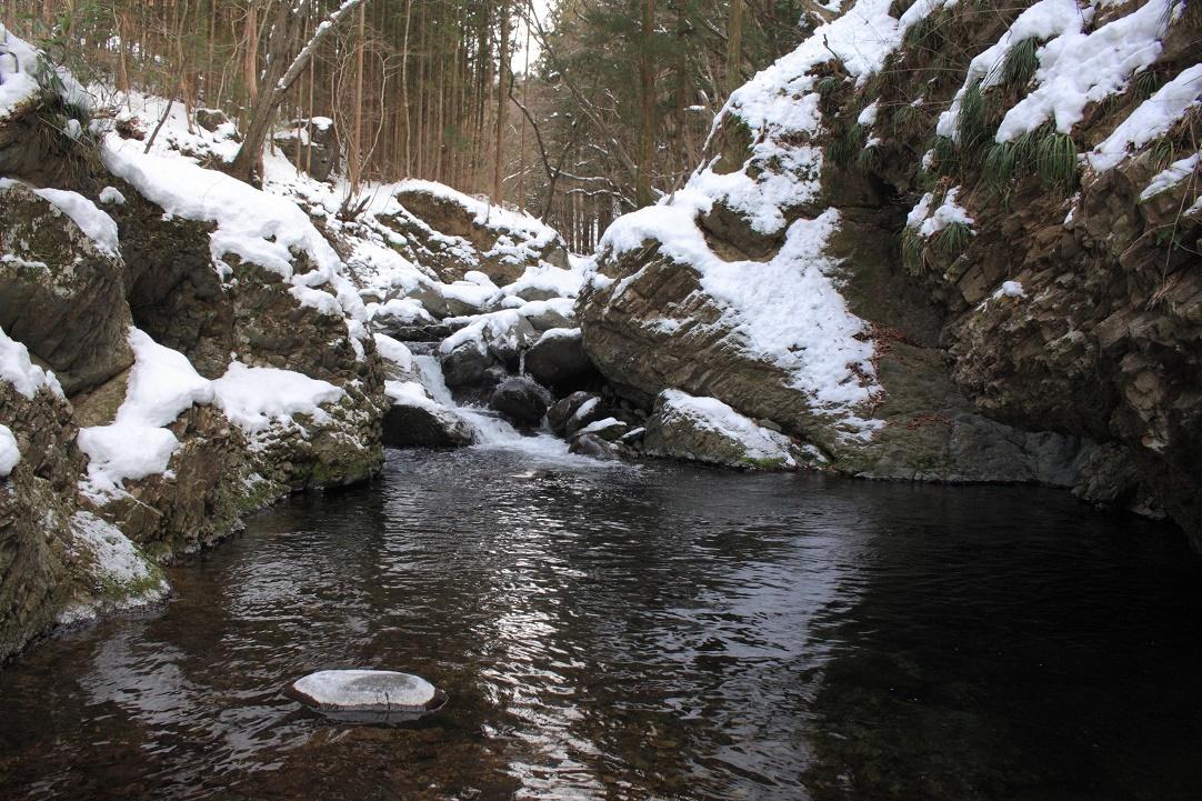 冬の堰場川(せきばがわ)18④