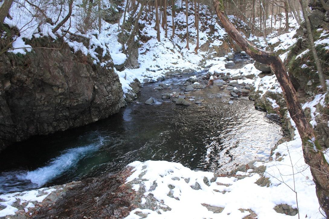 冬の堰場川(せきばがわ)18⑦