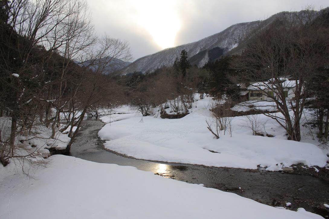 日光市湯西川の雪景色18①