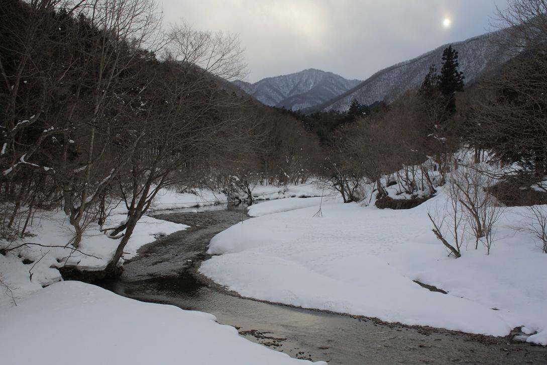 日光市湯西川の雪景色18③