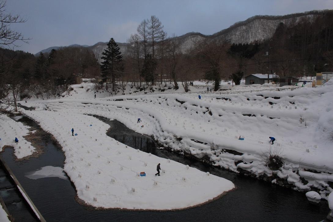 日光市湯西川の雪景色18⑩