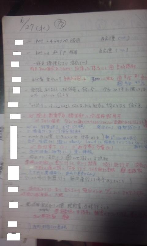 夜勤メモ・修正版