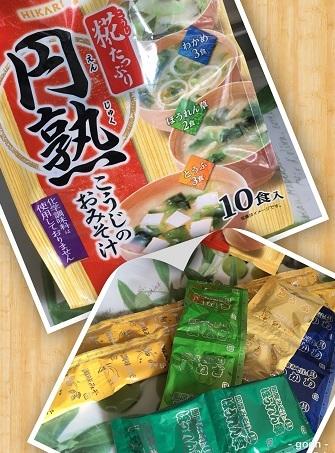 インスタント味噌汁1