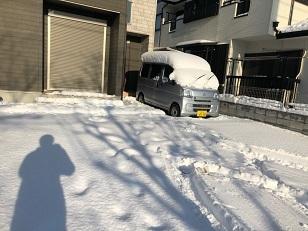 雪かき 前